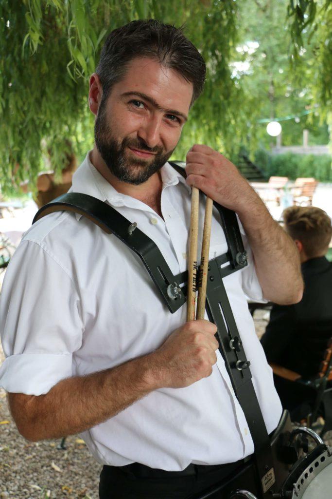 Andreas Brandner alias Brandy, Chef der Liveband Rockoons
